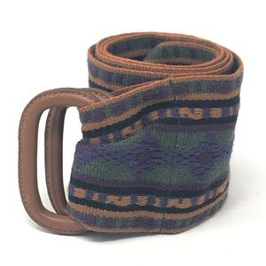 Land's End Boho Fabric D loop Belt